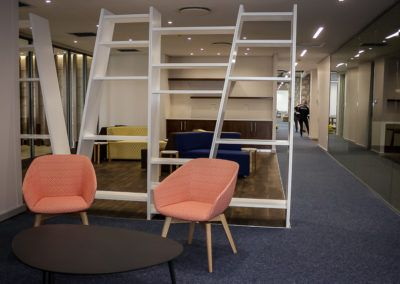 Open Plan Library Area