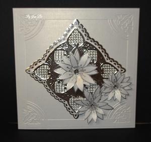 Silver Wedding card!