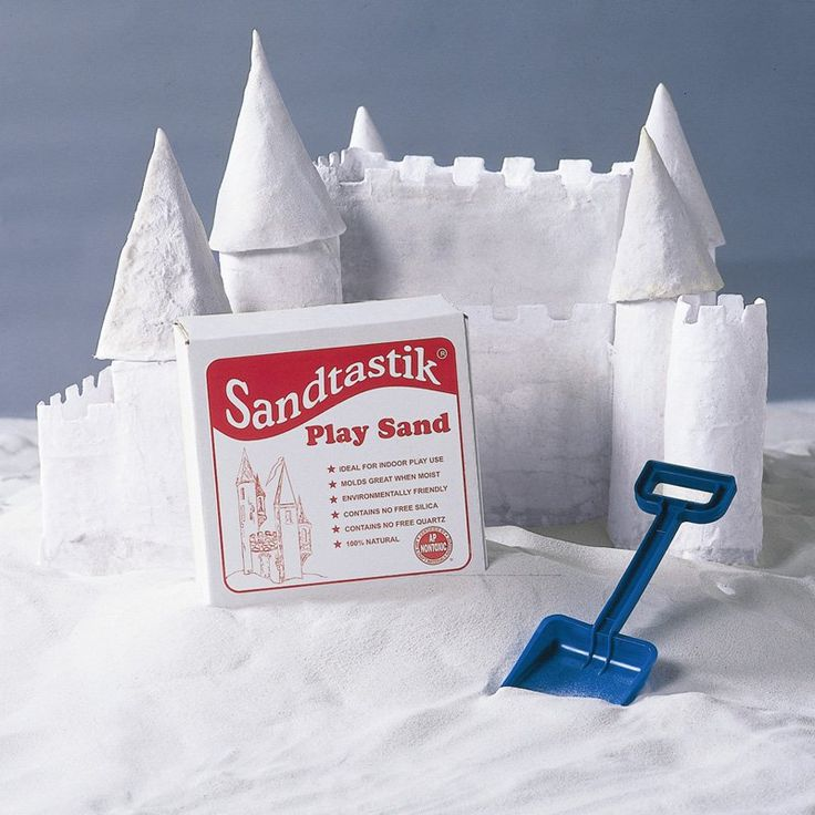 Sandtastik White Sandbox Sand