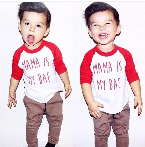 Mama is My Bae Raglan