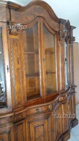 soggiorno-vetrina-credenza-vintage-anni-60-legno