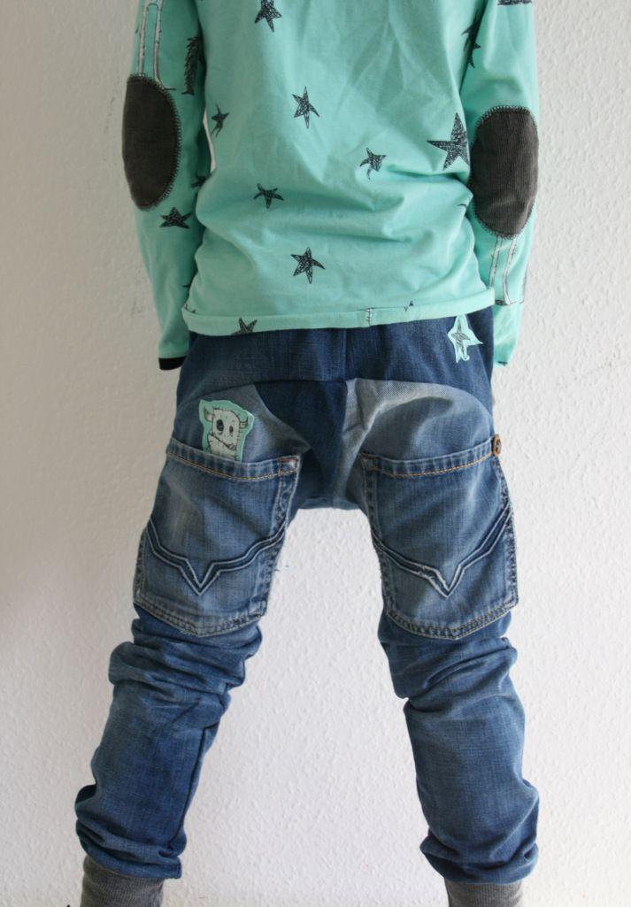 täschling 2.0 aus jeanshose