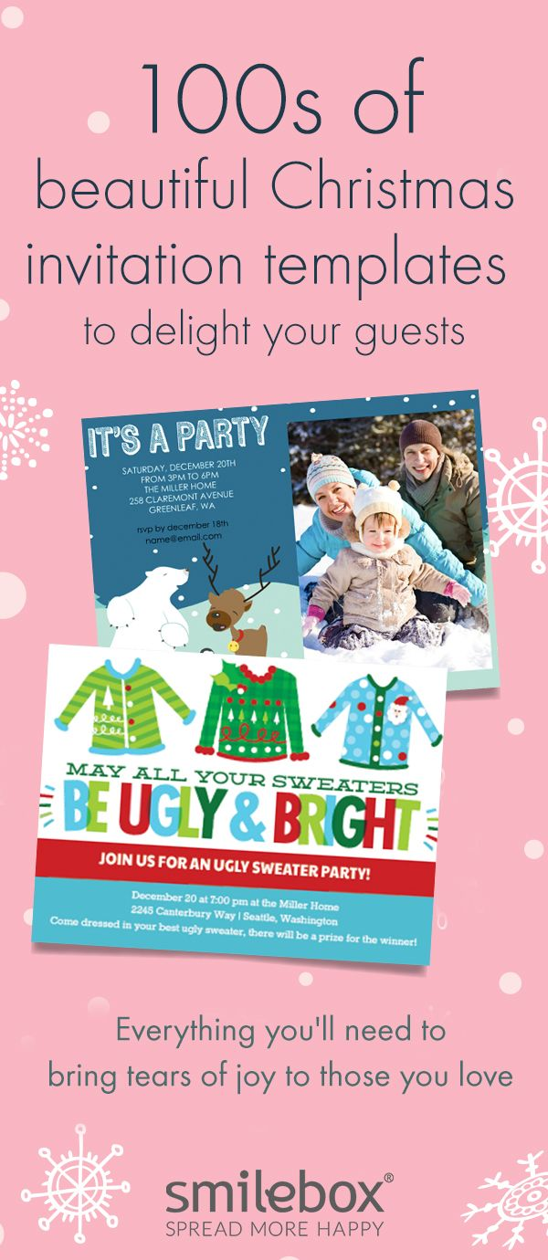 46 best Christmas Party Invitations images on Pinterest | Christmas ...