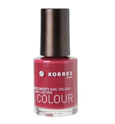 Korres Berry Rose nail polish