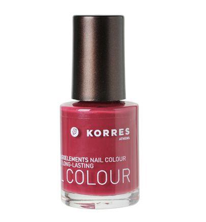 Korres Berry Rose nail polish