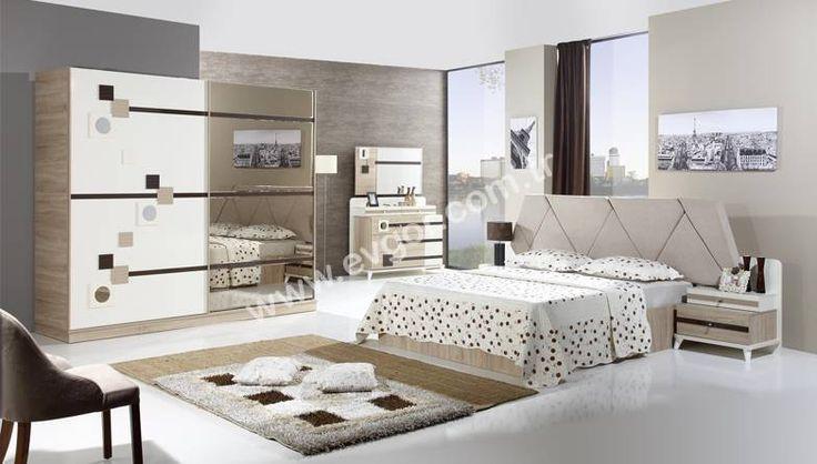 evgor.com.tr Eflin Modern Bedroom. Home decoration company is Evgör #bedroom #ev #dekorasyon #furniture #store from #turkey http://www.evgor.com.tr/K161,yatak-odalari.htm