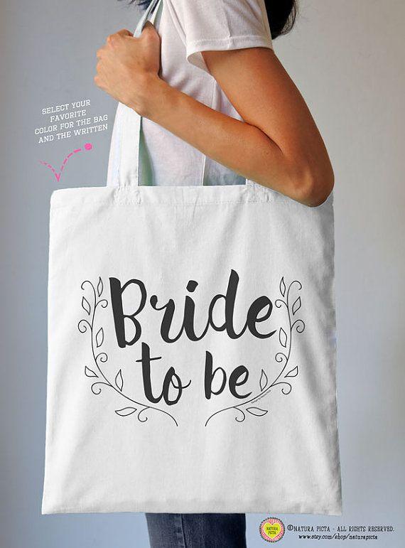 Bride to be tote bag-women bride bag-bride by naturapicta on Etsy