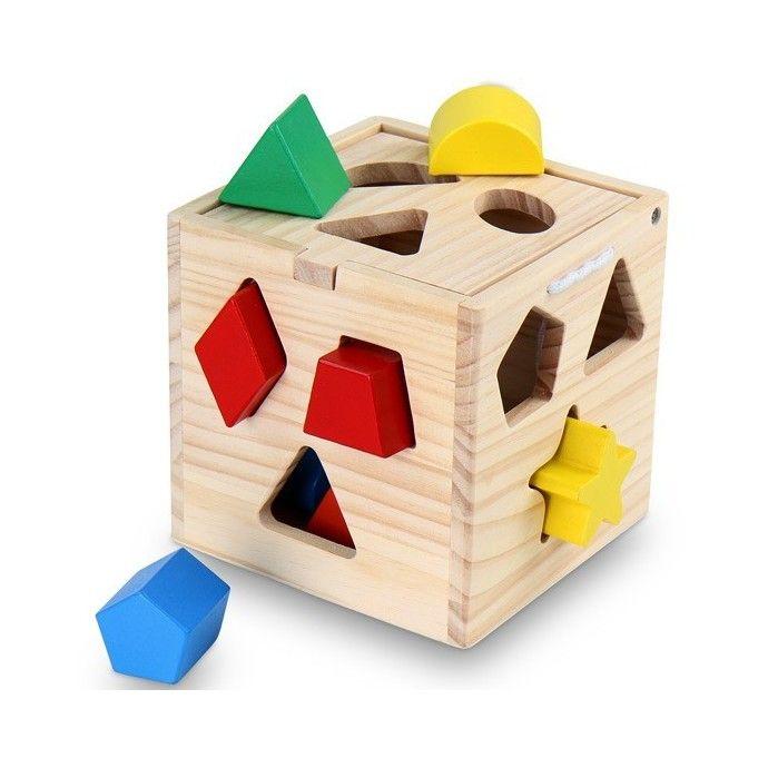 Älykuutio, 34,95 €. Tämän klassisen älykuution pariin lapset palaavat aina uudelleen ja uudelleen. Älykuutio haastaa lapset kehittämään heidän visuaalisia, henkisiä ja motorisia taitoja, tarjoten samalla hauskan leikkihetken. Tämä klassinen lelu on loistava valinta kenelle tahansa nuorelle lapselle ja auttaa kehittämään tärkeitä taitoja ja voi nopeuttaa lapsen kehitystä. Kuutio on valmistettu aidosta männystä. Ilmainen kotiinkuljetus! #älykuutio #lastenälykuutio