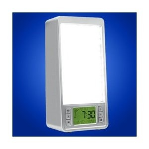 Sunrise system model sr320 10 000 lux of led blue light with dawn