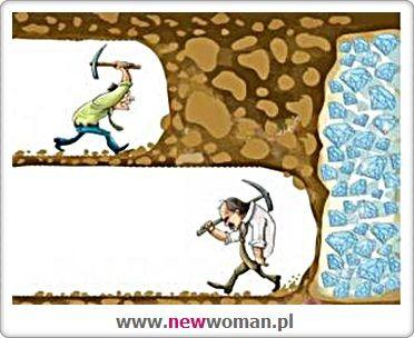 Sukces znajduje się tuż za punktem w którym chcemy zrezygnować.