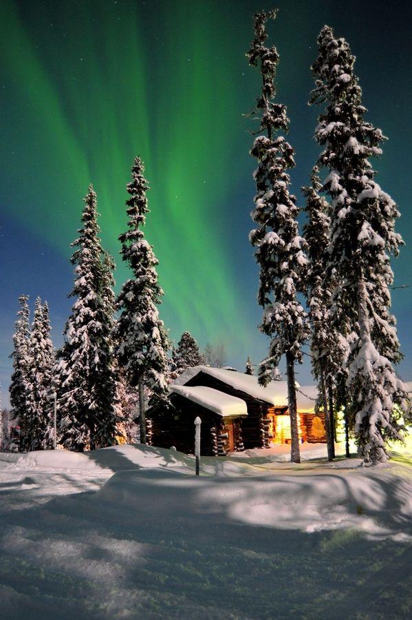 Aurora over Lapland, Finland