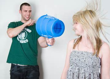 AirZooka - Air Cannon  Fun science toy for kids.