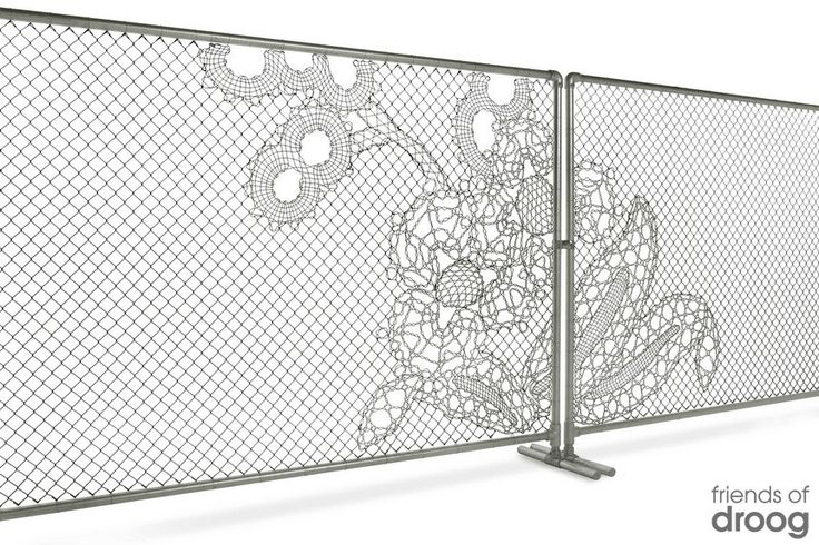 The Perfect Chain-Link Fence – smallrooms®