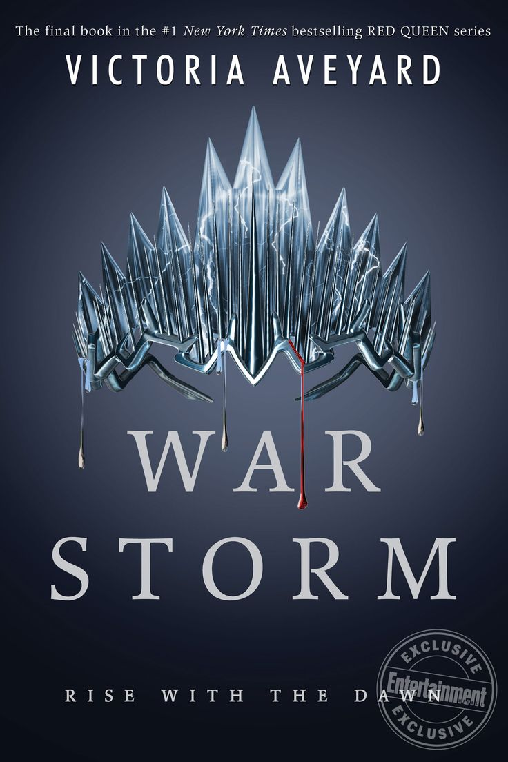 Victoria Aveyard reveals the cover for final Red Queen book, <em>War Storm</em>
