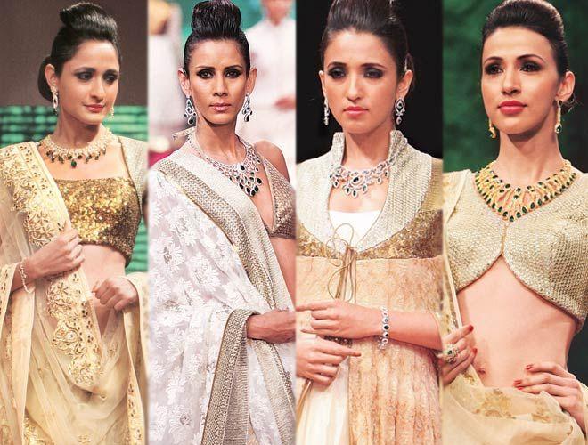 India Jewelery  Fashion Week.