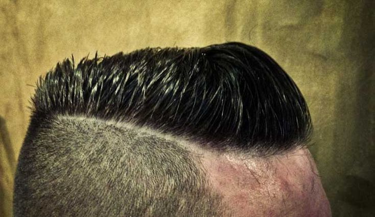 competition hairstyles : Heres a Mens side slick comb over cut, this time the sides have been ...