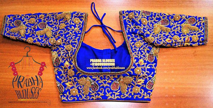Prabha blouses. Hyderabad. 12-6-211/3 viveknagar kukatpally. Contact :  080999 09996. 05 May 2017