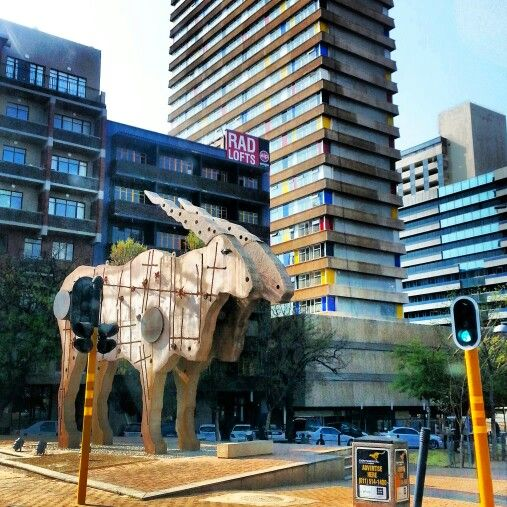 Downtown jozi art