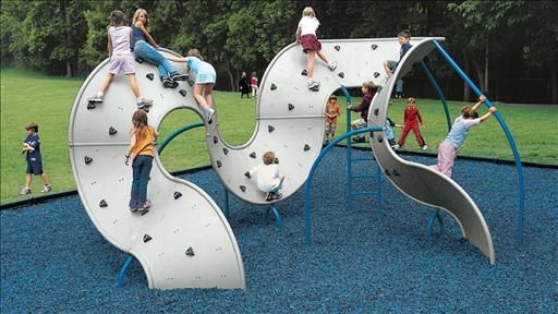 """Giving children real physical challenges is critical to their development: """"Are Playgrounds Too Safe?"""" - WSJ.com"""