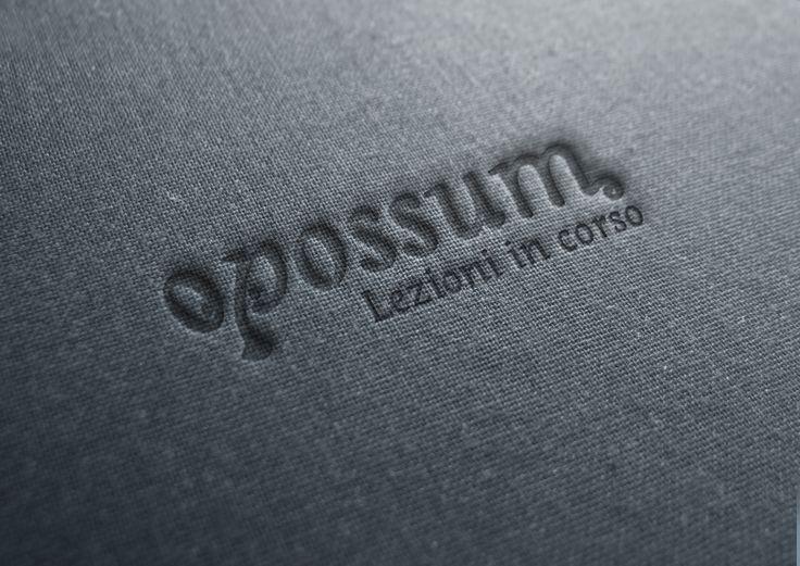 Restyling logo Opossum Corsi