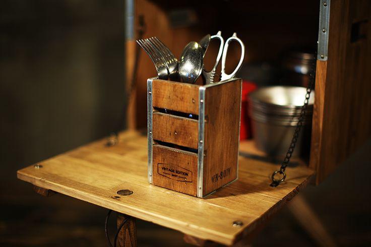 #box #spoonbox #camping #wooginoki #wood #handmade #outdoor