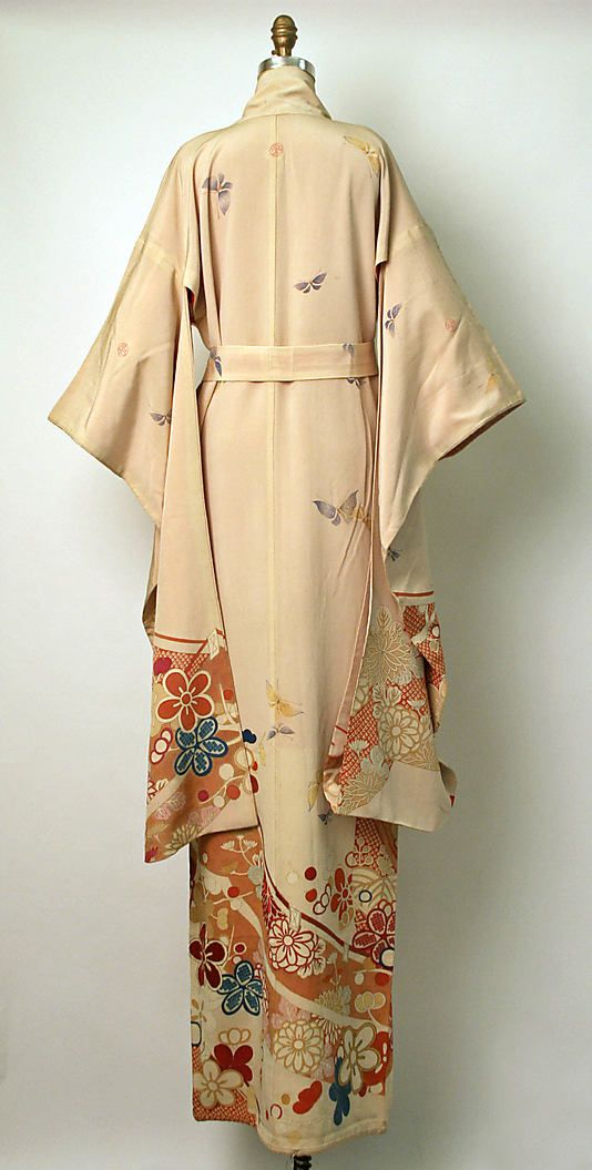 Furisode kimono, late 19th century, Japan
