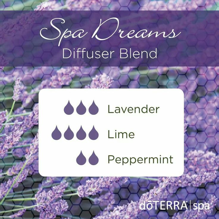 Spa dreams diffuser blend... This one is absolutely delightful!