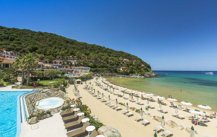 Hotel Hermitage, Elba, Italy.