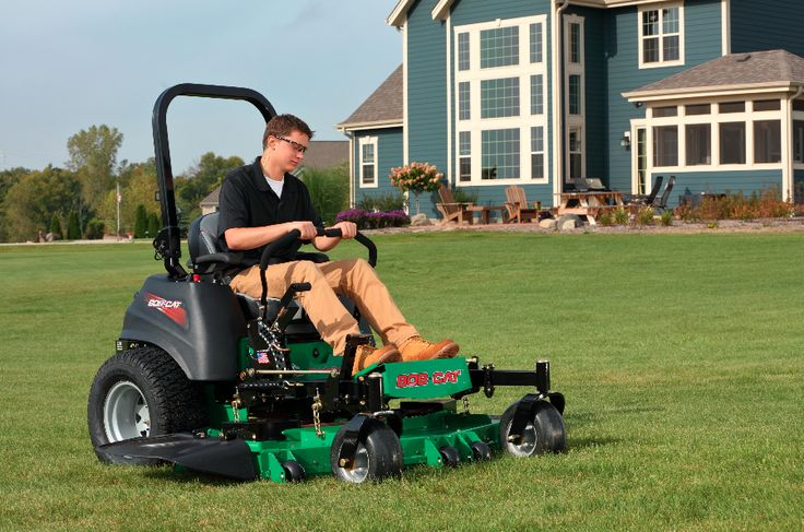 The Predator-Pro, shown here, is one of the Bob-Cat models targeting professional landscape contractors.