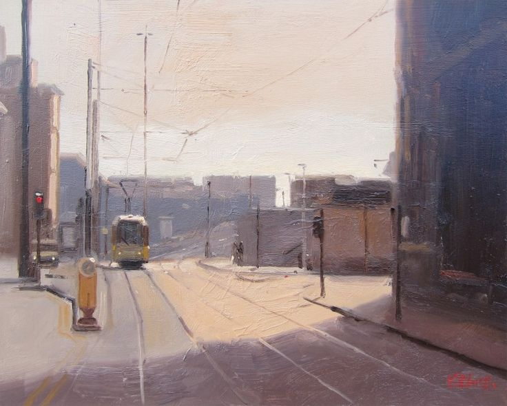 Michael John Ashcroft's LOWER MOSLEY STREET, MANCHESTER at the RA Summer Exhibition 2015