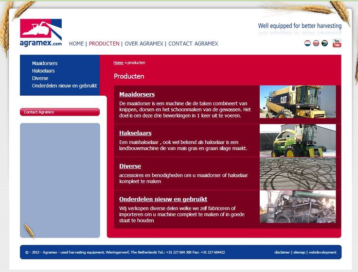 Agramex - webteksten