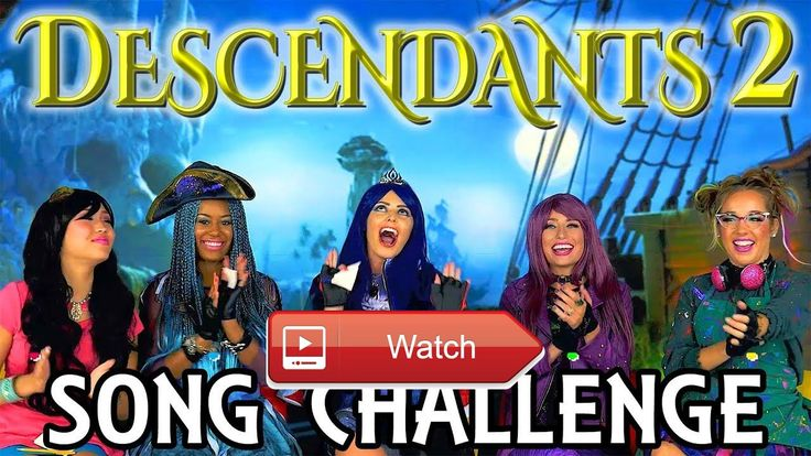 Descendants Song Challenge with One Word Playlists Totally TV  Uma Dizzy with Descendants Songs Challenge Singing from One Word Playlist Music for Kids Subscribe We're doing a De