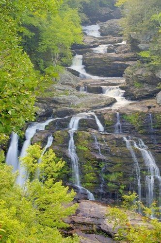 Calasuja Falls near Franklin, North Carolina.