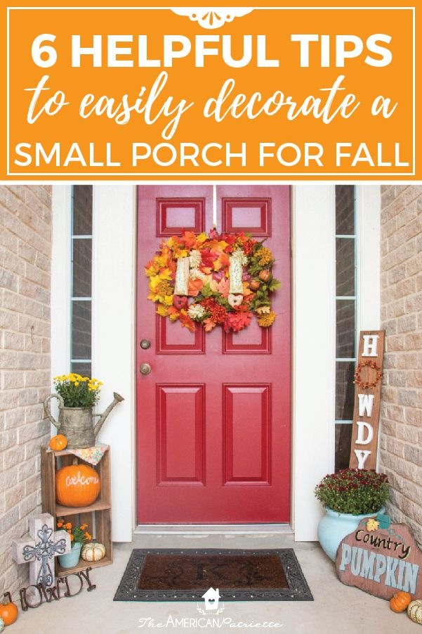 22+ Fall small front porch ideas information