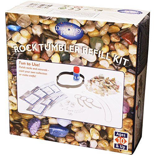 Edu-Toys  Rock Tumbler Refill Kit * You can get more details by clicking on the image. We are a participant in the Amazon Services LLC Associates Program, an affiliate advertising program designed to provide a means for us to earn fees by linking to Amazon.com and affiliated sites.