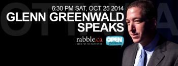 Watch Glenn Greenwald speak on privacy, security and journalism in Canada