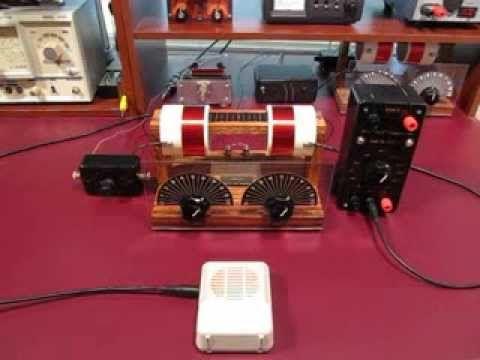Dual Tuned High Selectivity DX Crystal Radio   Crystal radio