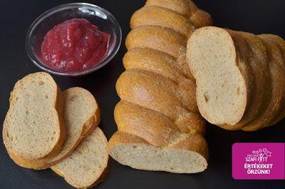 Szafi Fitt gluténmentes, szénhidrátmentes fonott kalács (magliszt-mentes, enyhén édes paleo recept)