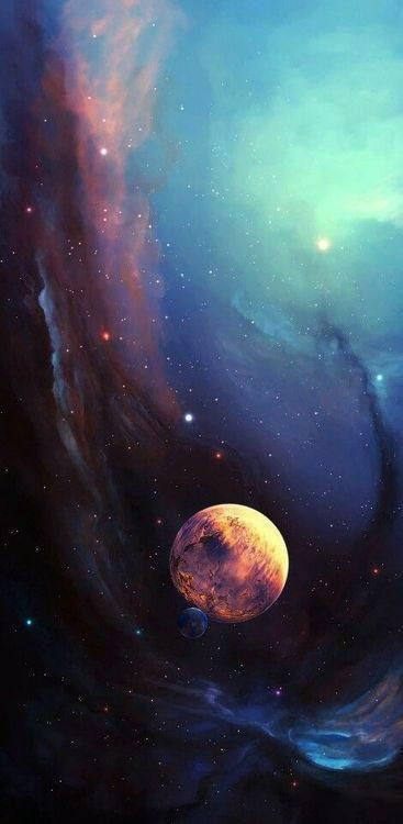 Iphone XR wallpaper HD 2018 nr54 (With images) Space art