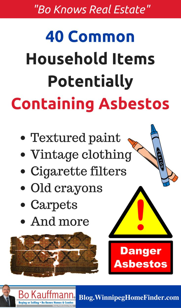 Best 25 asbestos tile removal ideas on pinterest covering 40 common household items potentially containing asbestos infographic dailygadgetfo Gallery