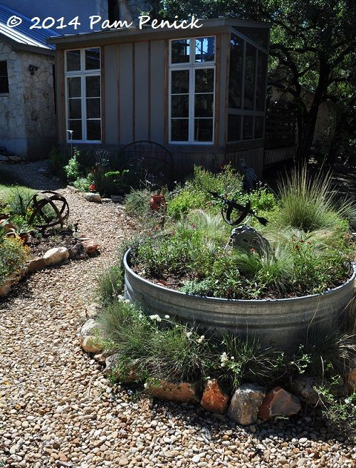Visiting a San Antonio garden with rocks, oaks, and deer | Digging