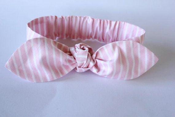 Baby bow headband baby girl headband Bridget by ElleBelleBliss $12 AUD