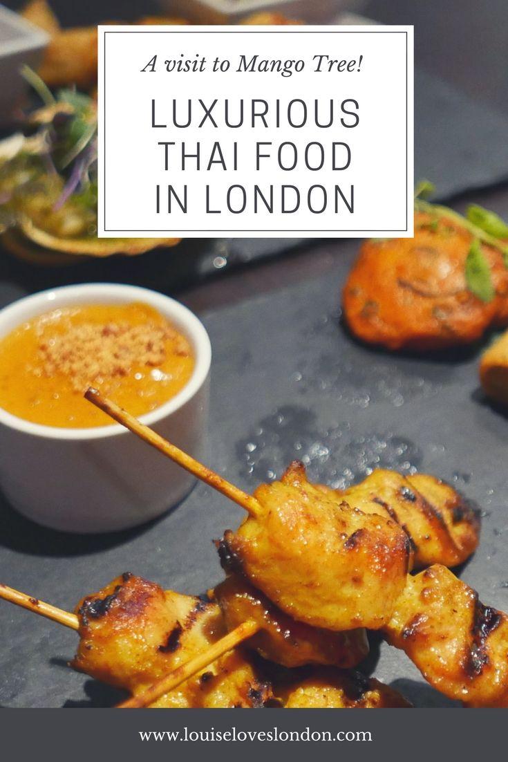 My visit to the luxurious Thai Restaurant Mango Tree in Belgravia/ London