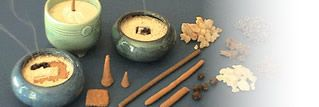 A website on making your own incense.  I knew there was a reason we saved the nag champa powder in the bottom of the bags! :)
