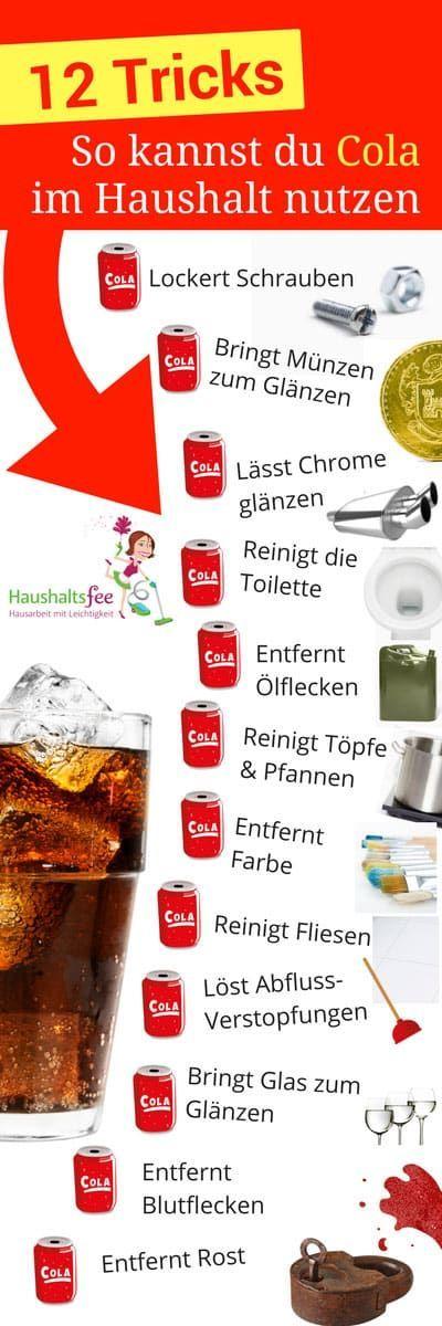 12 Möglichkeiten, Cola im Haushalt zu nutzen, Tricks & Hack zum Putzen