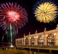 Fourth of July Celebration  Fourth of July Celebration– Kite flying competition at 5pm followed by entertainment. Watch the spectacular fireworks display at 9:30pm from the beach and boardwalk as it goes off from a barge off of 9th Street beach . For more information call 609-525-9300