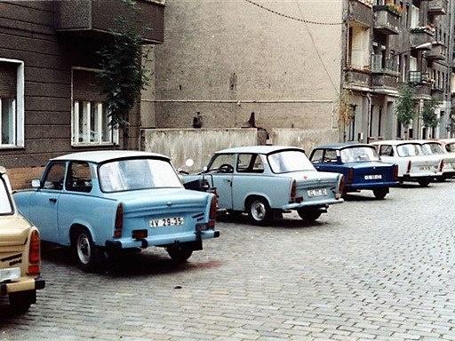 Traban street Chronik-Fotos