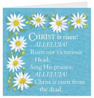 Christ is Risen Easter Cards - Pack of 5 | Free Delivery when you spend £10 @ Eden.co.uk