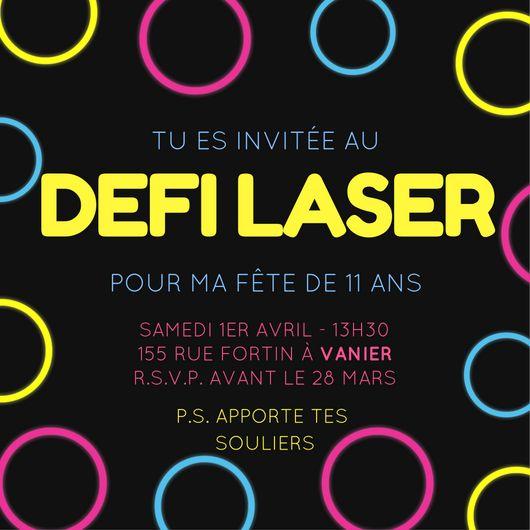 Favori Les 25 meilleures idées de la catégorie Laser tag anniversaire sur  TL81