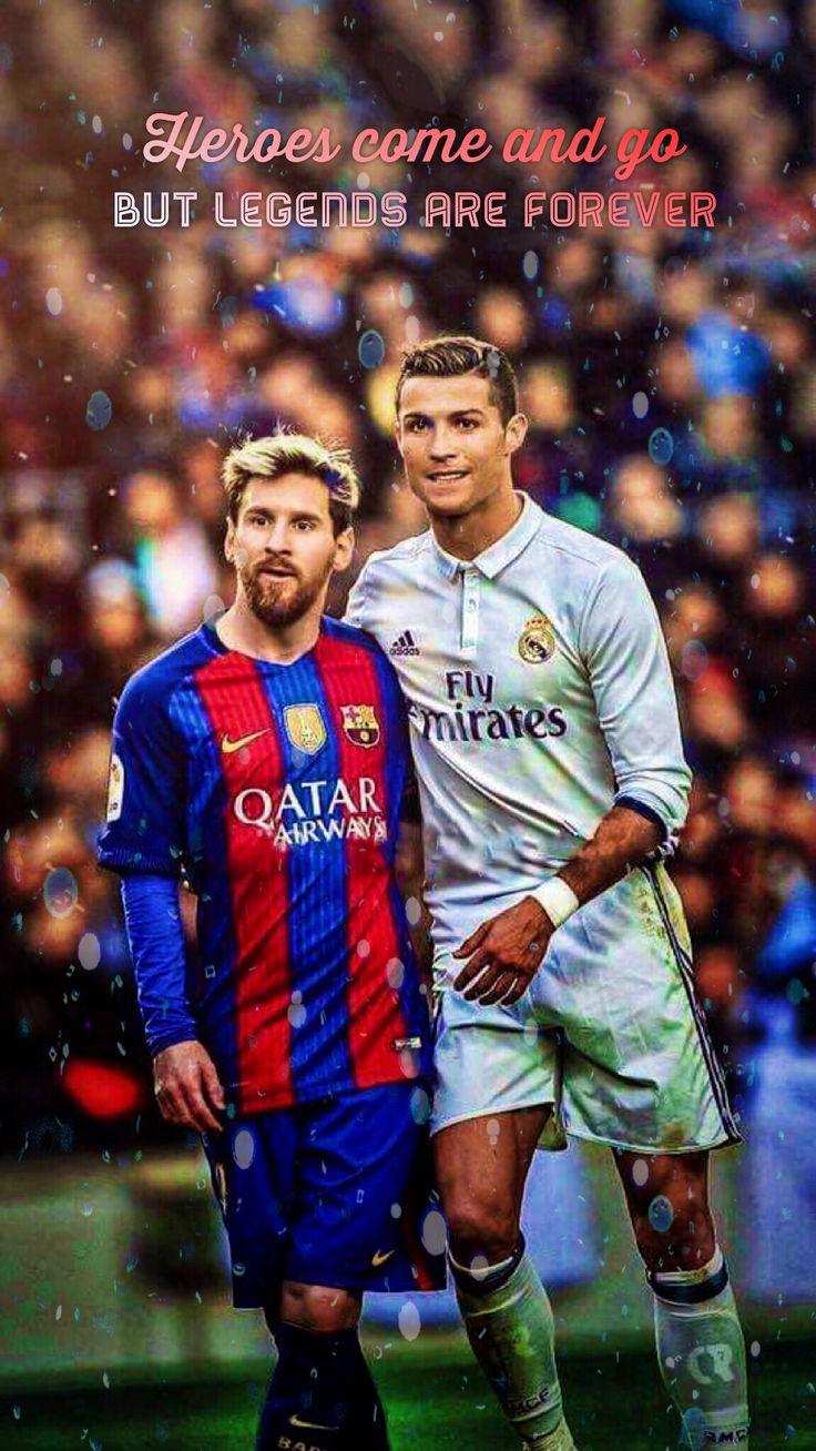 Messi and Ronaldo Legends